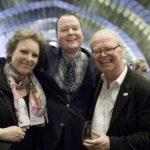 Dr. Nina Sträter, Carsten Lehl, Prof. Dr.Dr. Volker Kalisch, Prorekltor der Robert-Schumann-Hochschule.
