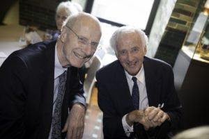 Hartmut Haubrich mit Udo van Meeteren (v.l.n.r.)