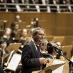 Oberbürgermeister Thomas Geisel fand sehr schöne Worte für das bürgerschaftliche Engagement des Musikvereins und seiner Sängerinnen und Sänger.