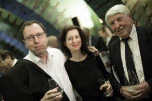 Wolfram Goertz mit Partnerin und seinem Vater