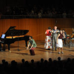 SingPause-Konzert am 12.7.2018, Üben mit den Eltern, Großeltern und Gästen Bild: Oleksandr Voskresenskyi/Musikverein