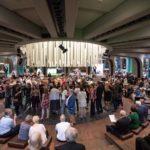 Musikvereinsfest: Der Chor begrüßt seine Gäste musikalisch