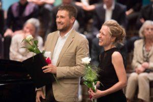 Ein Geschenk der DOR: Die Sopranistin Heidi Elisabeth Meier und der Pianist Wolfgang Wiechert