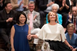 Unsere Korrepetitorin Rie Sakai mit der Sopranistin Carolina Rüegg