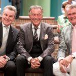 Wulff Aengevelt, Wolfgang Rolshoven und Prof. Dr. Meyer-Falcke in froher Stimmung