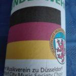Musikfest der Bundeswehr: Eine besondere wertschätzende Geste zur After-Show-Party: Jede Musikgruppe bekam für sie eigens etikettiertes Bier.