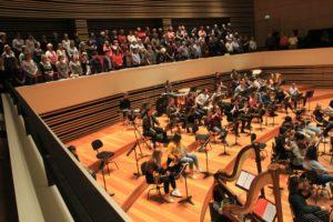Der Chœur Régional Hauts-de-France in Lille ver-stärkt um Mitglieder des Städtischen Musikvereins