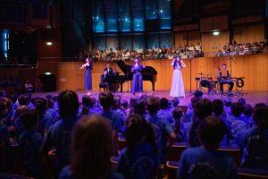 Schöne Stimmung in der Tonhalle - © Tonhalle Düsseldorf / Susanne Diesner Fotografie