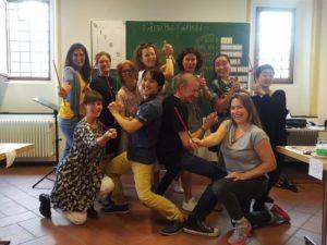 SingPause-Lehrgang mit Fr. Schmalenberg 8.2019