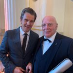 OPUS KLASSIK 2019: Manfred Hill mit Markus Lanz im Konzerthaus Berlin nach der Preisverleihung
