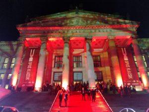 OPUS KLASSIK 2019: Konzerthaus Berlin in festlicher Beleuchtung