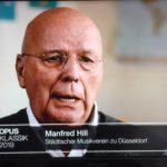 OPUS-Klassik 2019: Wortbeitrag im Einspieler zur SingPause-Kopie aus ZDF-Übertragung vom 13.10.2019