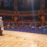 MV 2020 Blick vom Orchesterpodium in den Saal