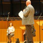 Manfred Hill dankt Teresia Petrik für Ihre tolle Arbeit als Schatzmeisterin I