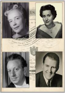 Clara Ebers – Nan Merriman - Helmut Krebs – Otto von Rohr
